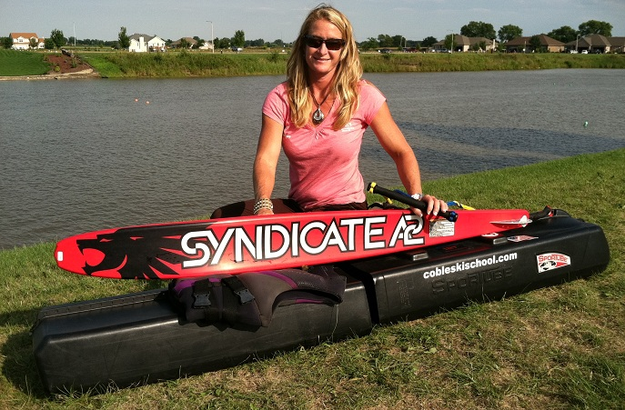 April Coble-Eller Water Ski Sportube
